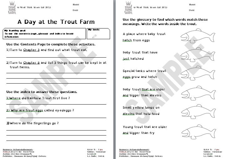 A Day at the Trout Farm