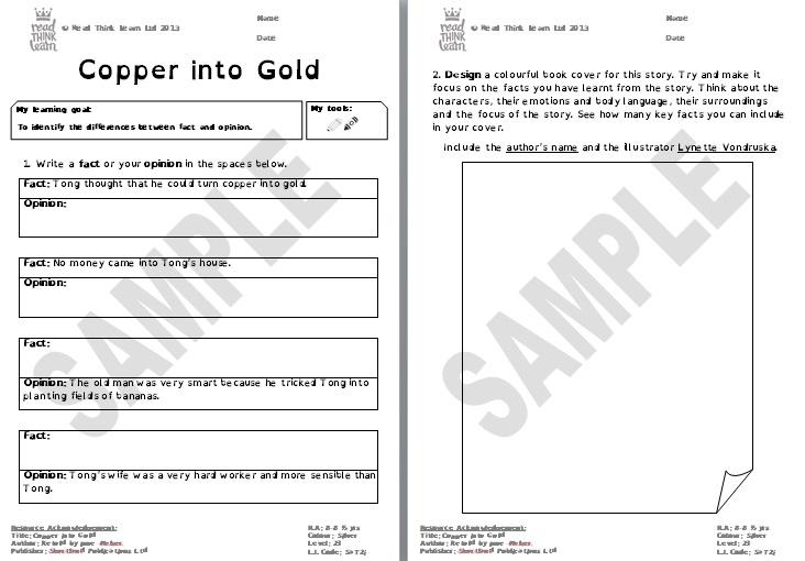 Copper into Gold