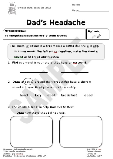 Dad's Headache