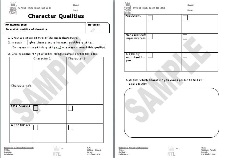 Generic - Character Qualities