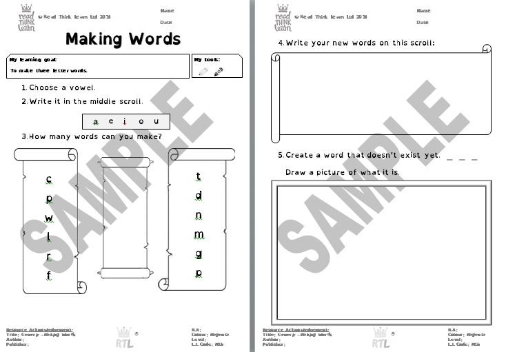 Generic -Making Words