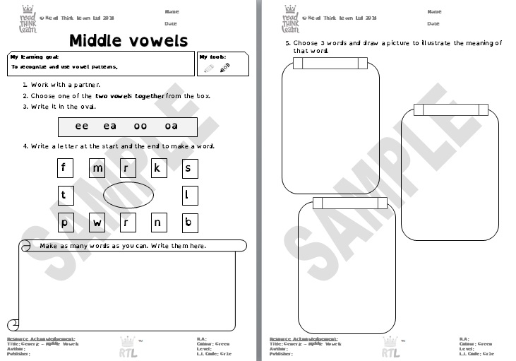 Generic - Middle Vowels