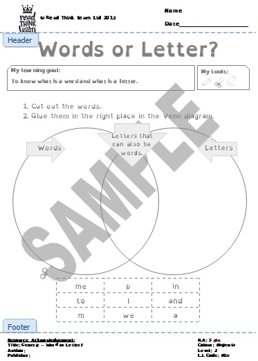 Generic - Word or Letter