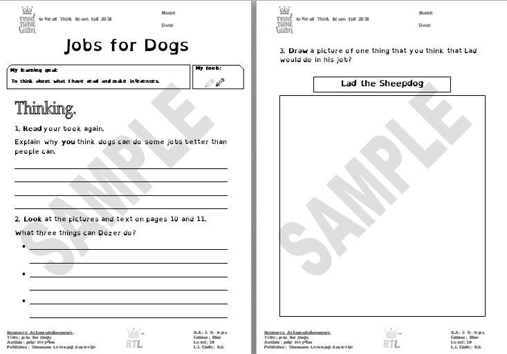 Jobs for Dogs