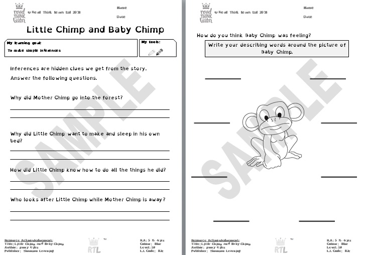 Little Chimp and Baby Chimp 2