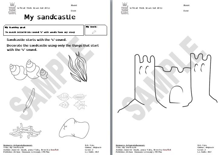 My sandcastle 2