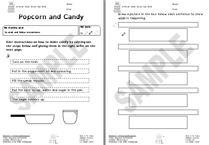 Popcorn and Candy 2