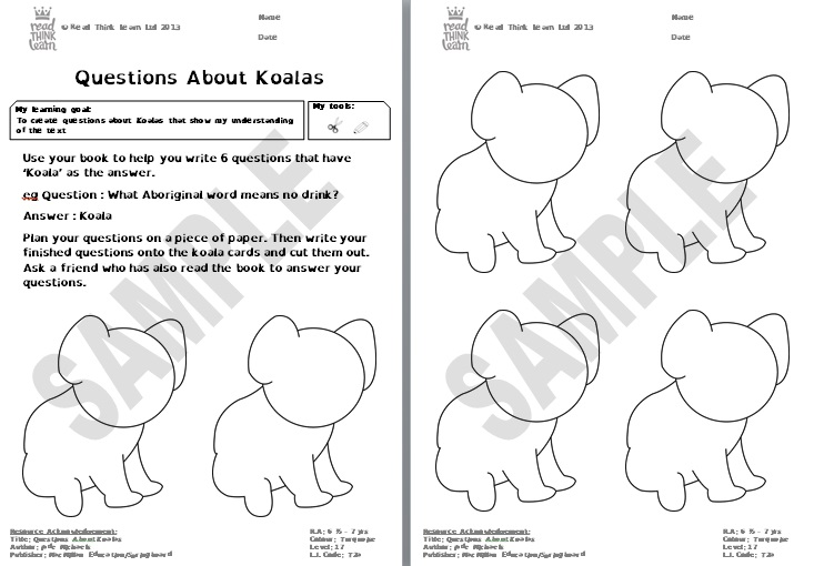 Questions About Koalas