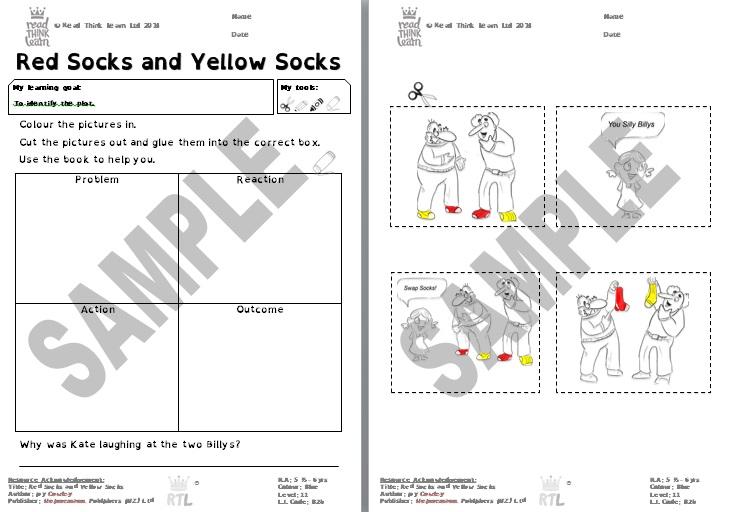 Red Socks and Yellow Socks