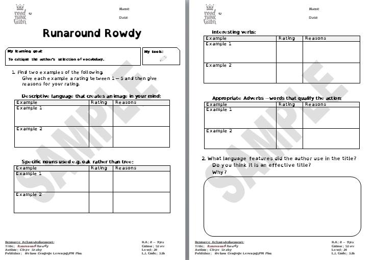 Runaround Rowdy