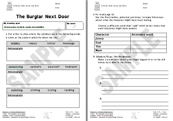 The Burglar Next Door