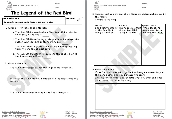 The Legend of the Red Bird