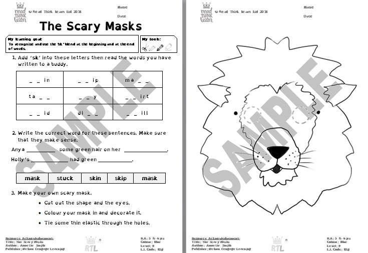 The Scary Masks