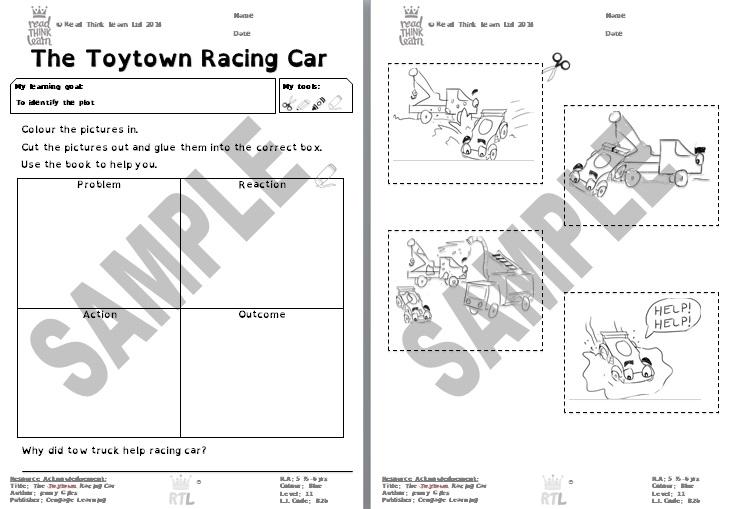 The Toytown Racing Car
