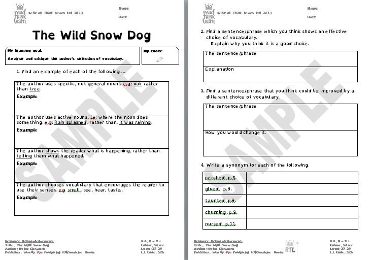 The Wild Snow Dog