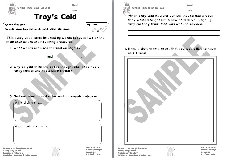 Troy's Cold